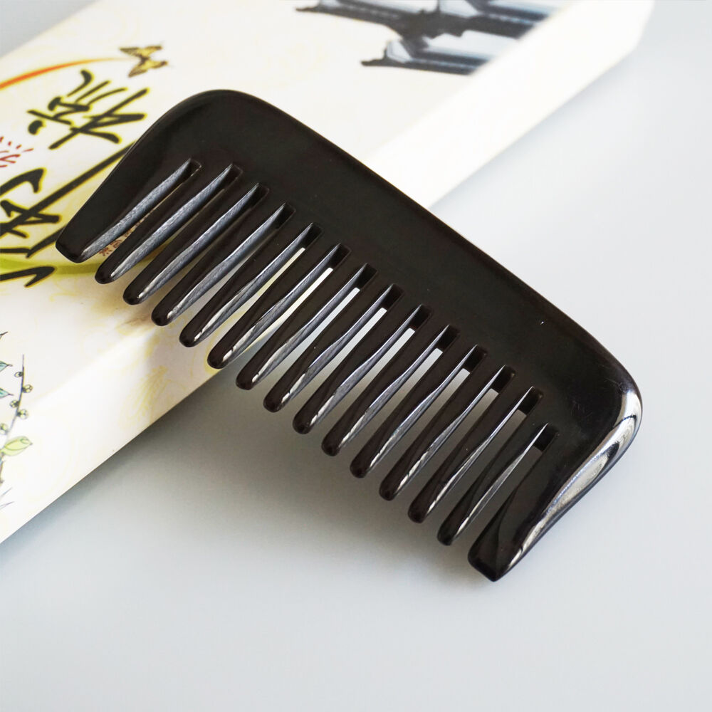 Pocket Comb Wide Tooth Horn Comb Small Beard Handmade Hair