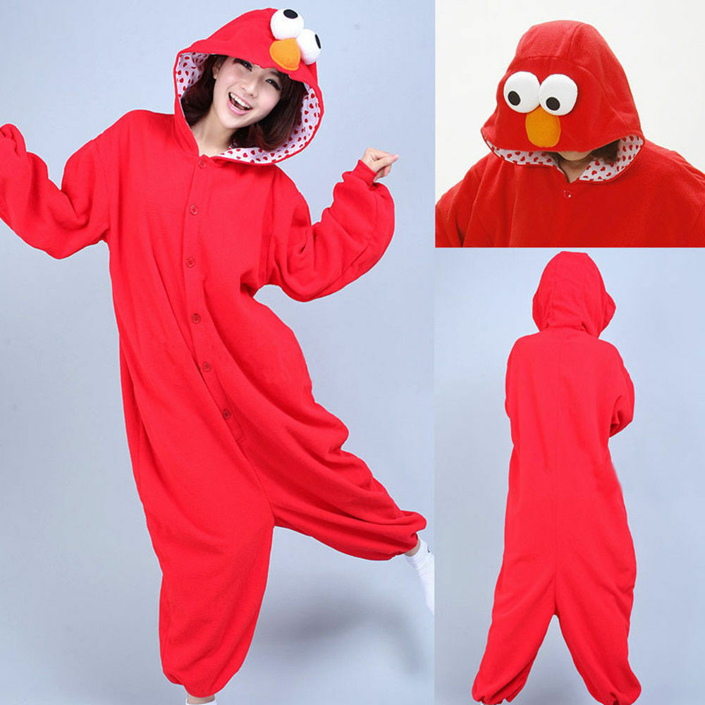 Elmo adult costume