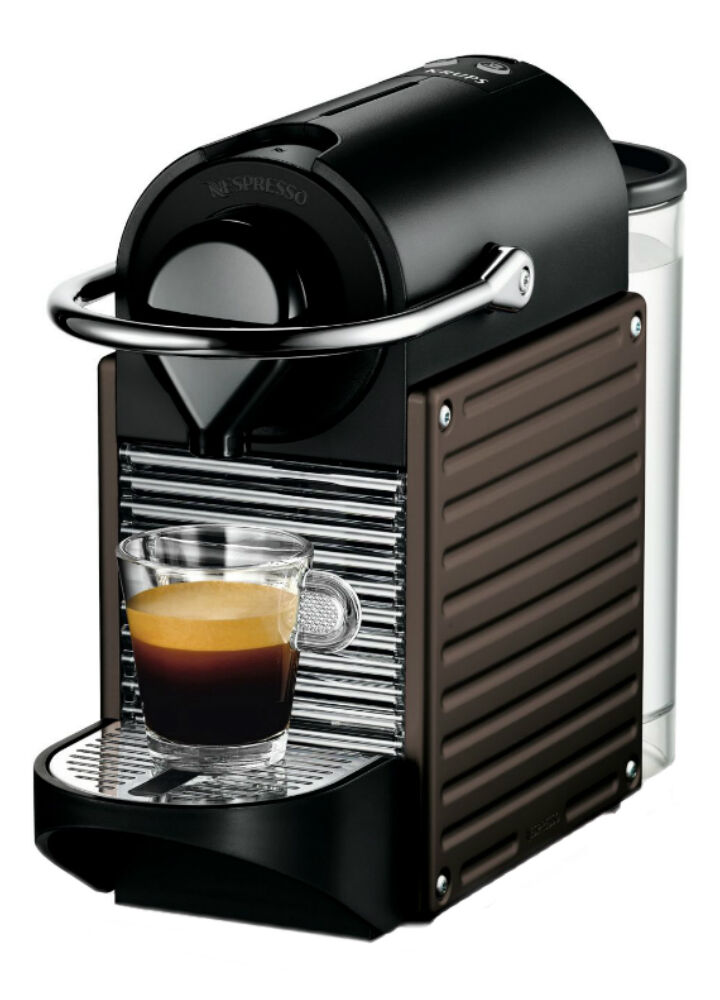 nespresso pixie automatic coffee machine by krups. Black Bedroom Furniture Sets. Home Design Ideas