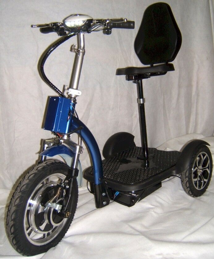 Motorized Electric Mobility Scooter Sit Stand Electric