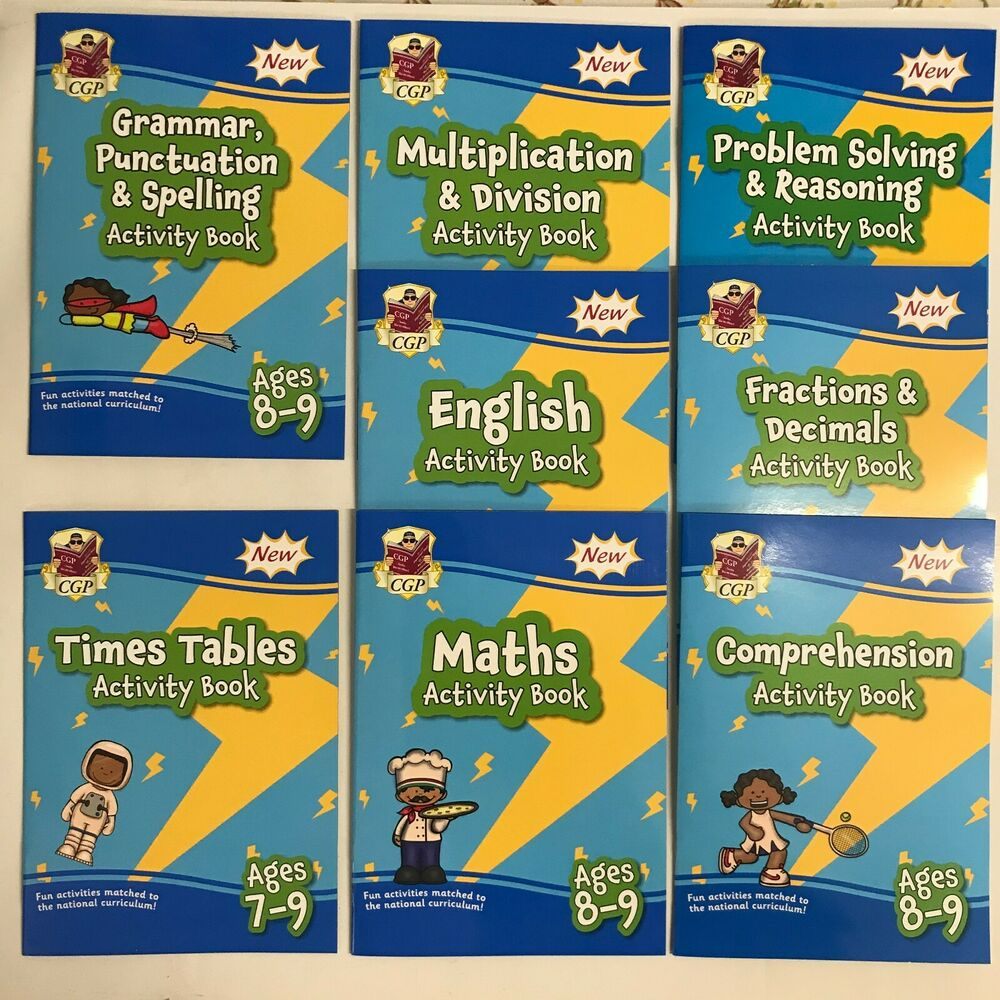 New Letts Make it Easy English & Maths Workbooks For Children Age 7 ...