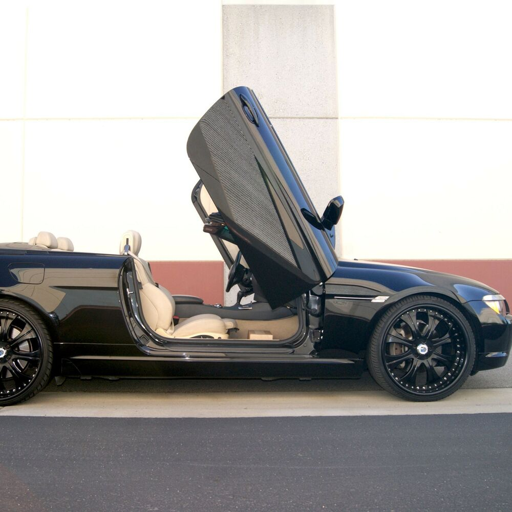 vdi bmw 6 series 2003 2010 bolt on vertical lambo doors. Black Bedroom Furniture Sets. Home Design Ideas