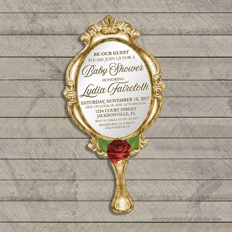 Beauty And The Beast Wedding Invitations for good invitations template