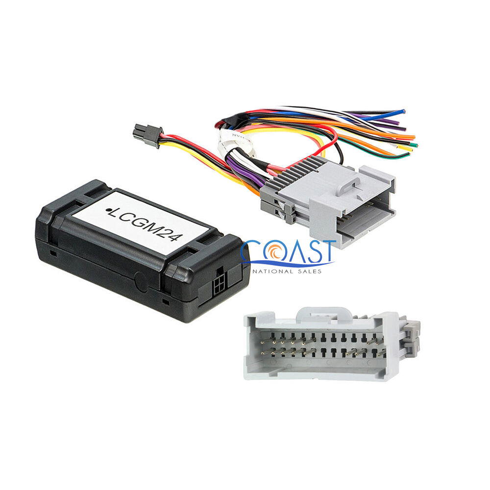 Car Audio GM General Motor Radio Interface Harness for 2000-up Base Model  Only | eBay