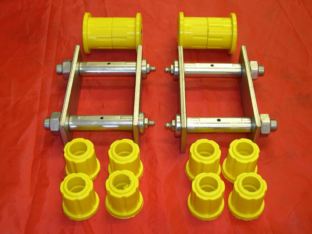 Holden Tf Rodeo Rear Suspension Greasable Spring Shackles