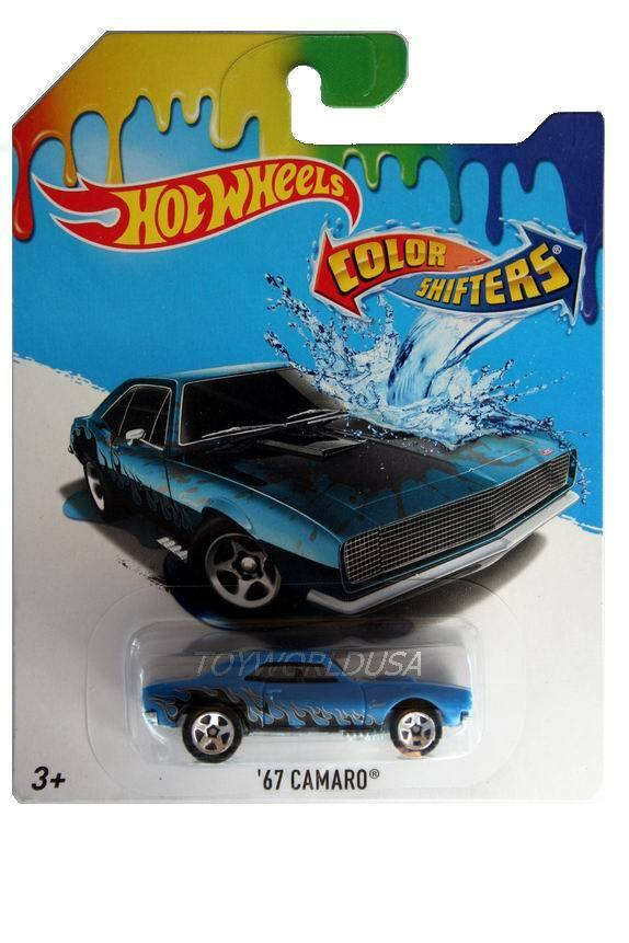 2017 hot wheels color shifters city 39 67 camaro ebay. Black Bedroom Furniture Sets. Home Design Ideas