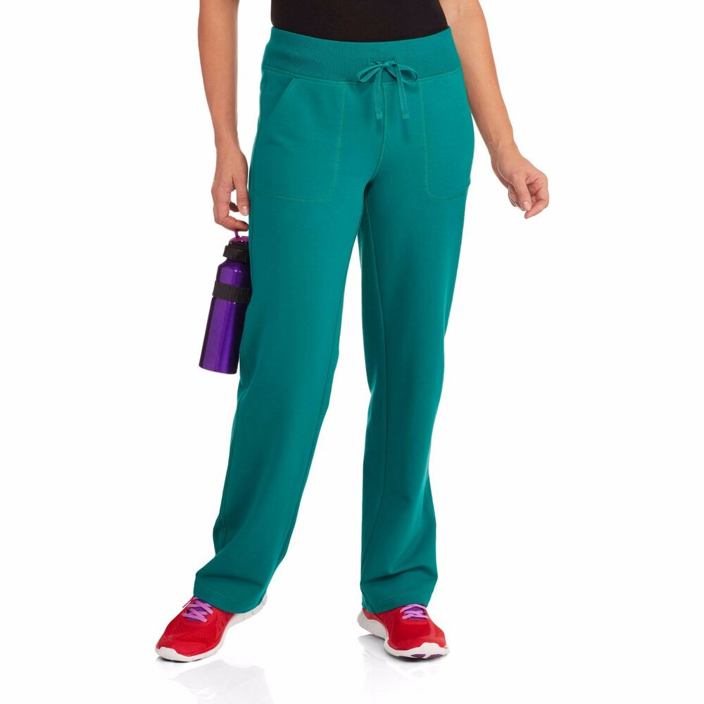 Athletic Works Womens French Terry Athletic Pants L -2368