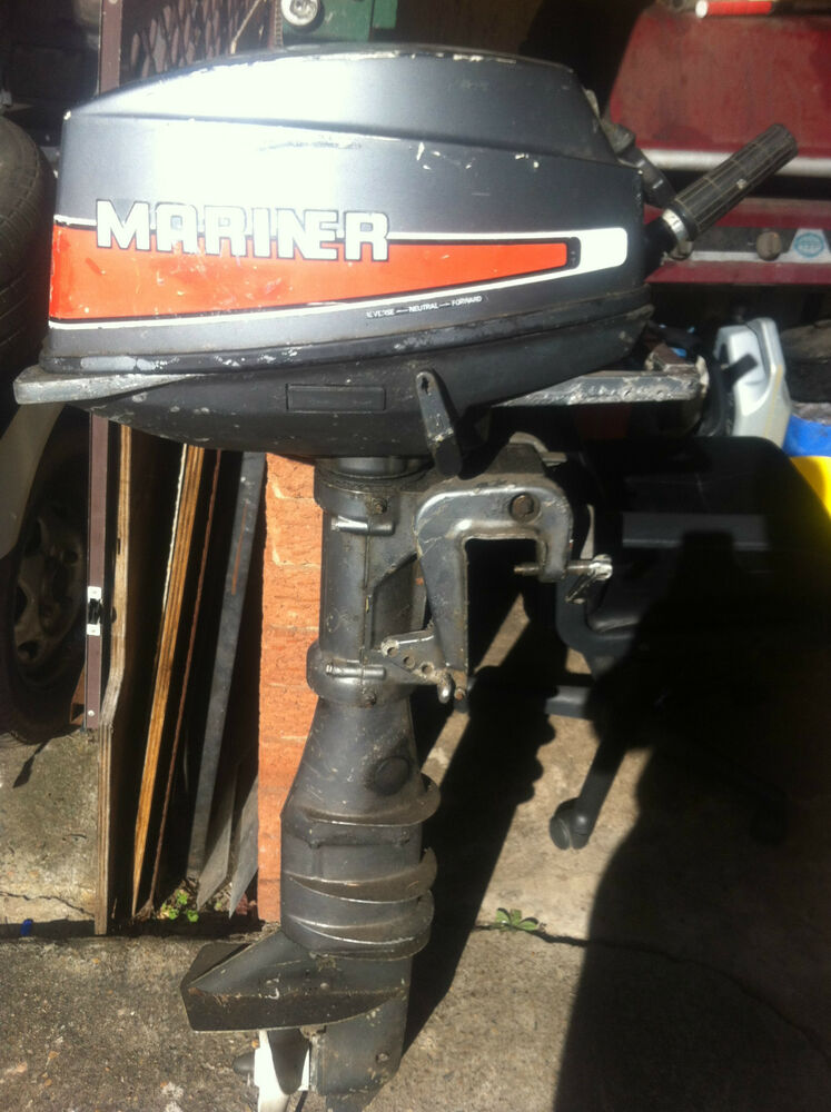 Outboard Motor Mariner 8hp Not Working Seized Selling