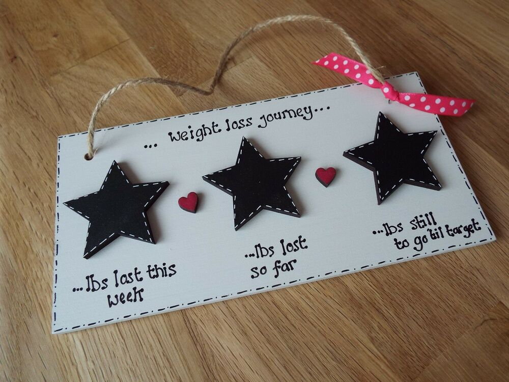 Slimming world weight watchers diet weight loss chalkboard sign personalised ebay How to lose weight on slimming world