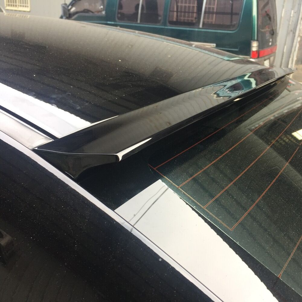 Painted Vrs Type Rear Roof Spoiler Wing For Cadillac Cts V