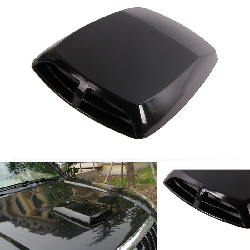 Hood air flow intake scoop exterior bonnet vent cover for Exterior vent covers