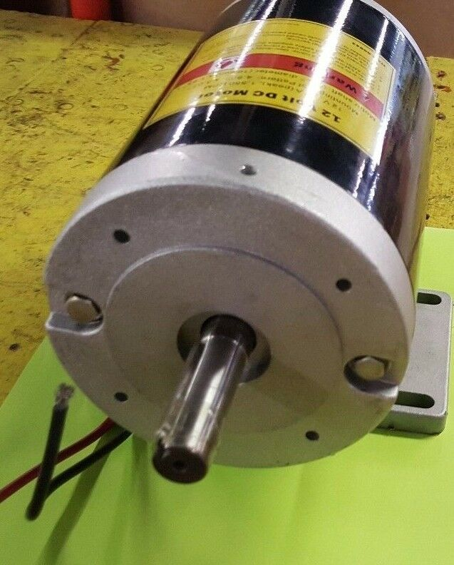 Large 12 volt dc motor free shipping ebay for Large dc electric motor