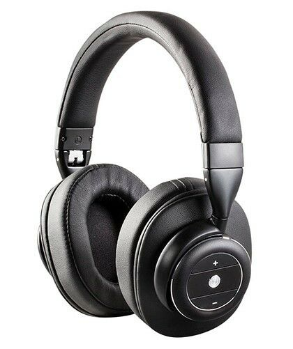 black noise cancelling bluetooth wireless stereo headphones over the ear headset ebay. Black Bedroom Furniture Sets. Home Design Ideas