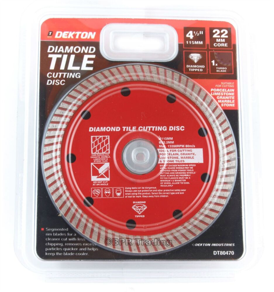 115mm Turbo Tile Diamond Cutting Disc Angle Grinder Blade