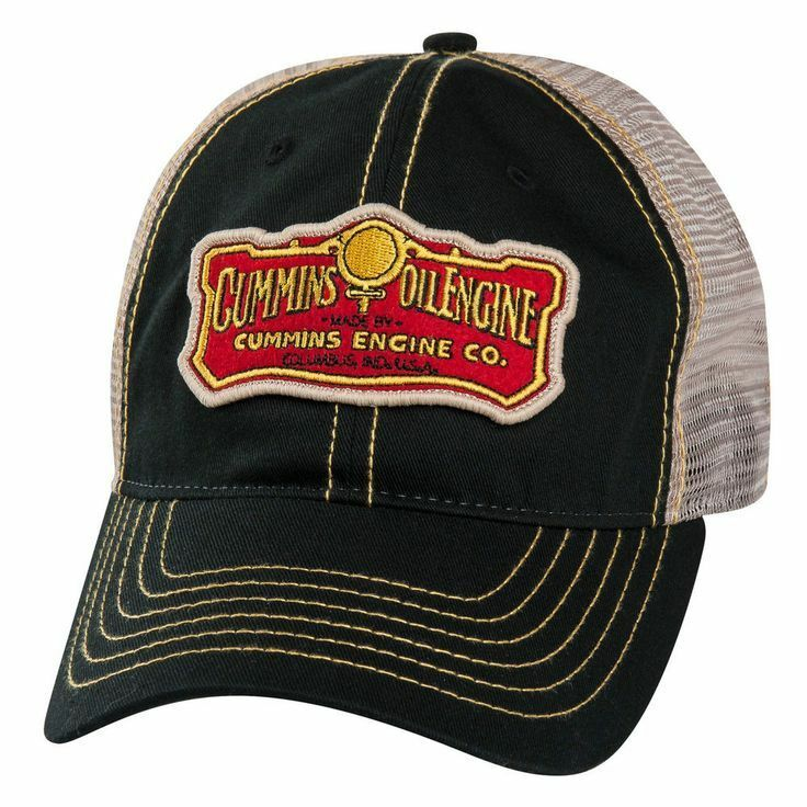 dodge ram cummins engine co diesel vintage trucker cap hat. Black Bedroom Furniture Sets. Home Design Ideas