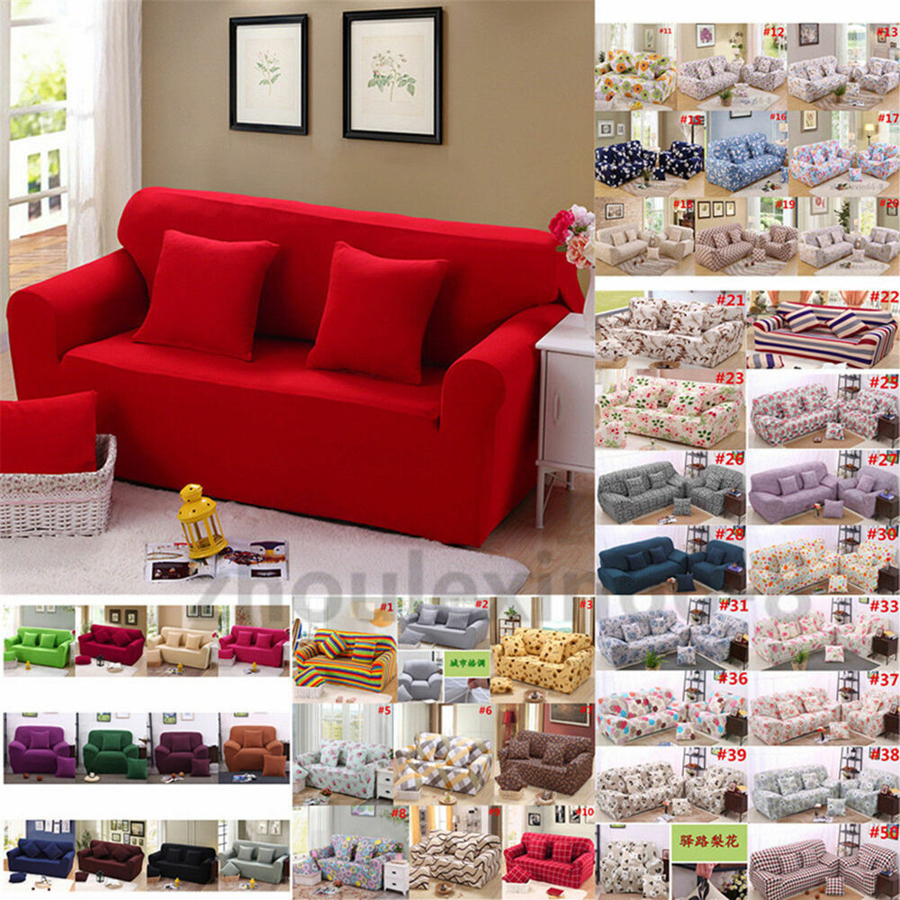 1 4 seater stretch loveseat sofa couch protect cover