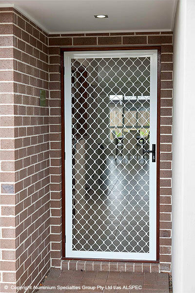 Custom Security Screen Doors Sliding or Hinged Any