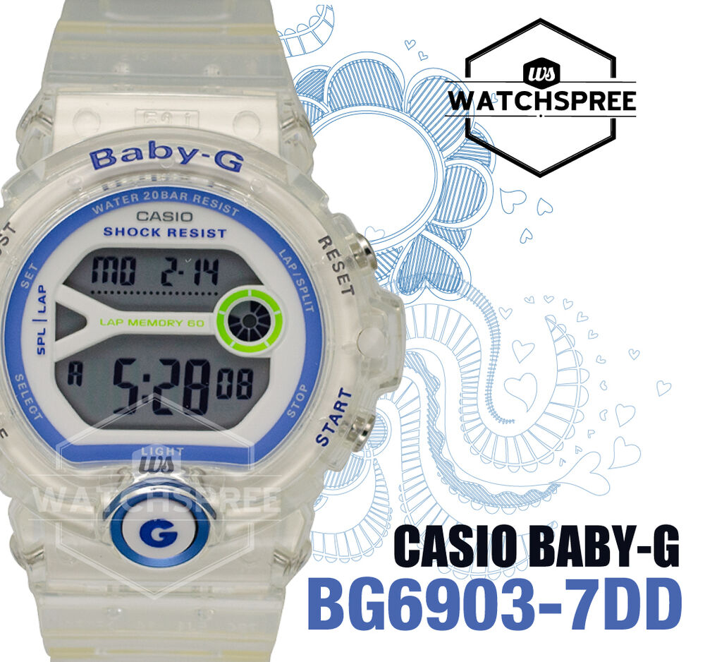 Casio Baby G For Running Series Ladies Watch Bg6903 7dd Babyg Bg 169r 4bdr 4549526144110 Ebay