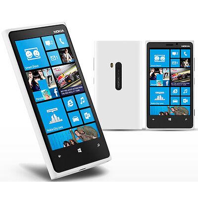 Nokia Lumia 920 White,camera,wifi,bluetooth,fm Radio Touch Screen Windows Phone
