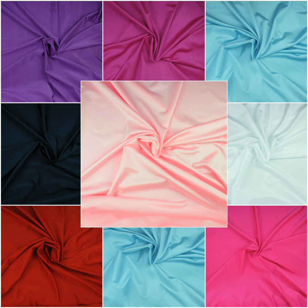 Quality lycra spandex 4 way stretch fabric material for Spandex fabric