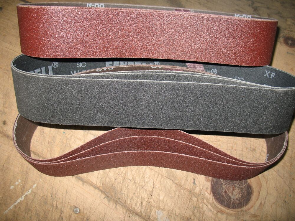 9 Pc Asst 2 X 28 Quot Sanding Belts To Fit Eastwood And