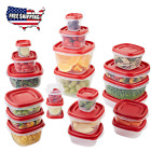 Rubbermaid Easy Find Lid Food Storage Container Storage Set BPA-Free Made in USA