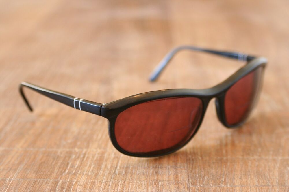 8f61760d0f9 Details about RARE Persol 58230 Ratti Terminator 2 Black Sunglasses Frames  64-21 Made in Italy. See original listing