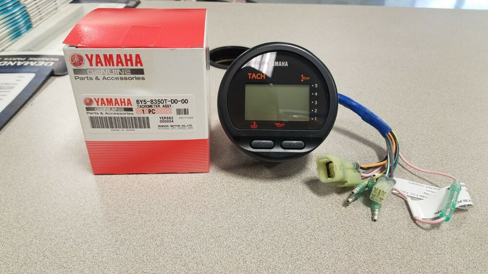 Y T  Yamaha Outboard Tachometer