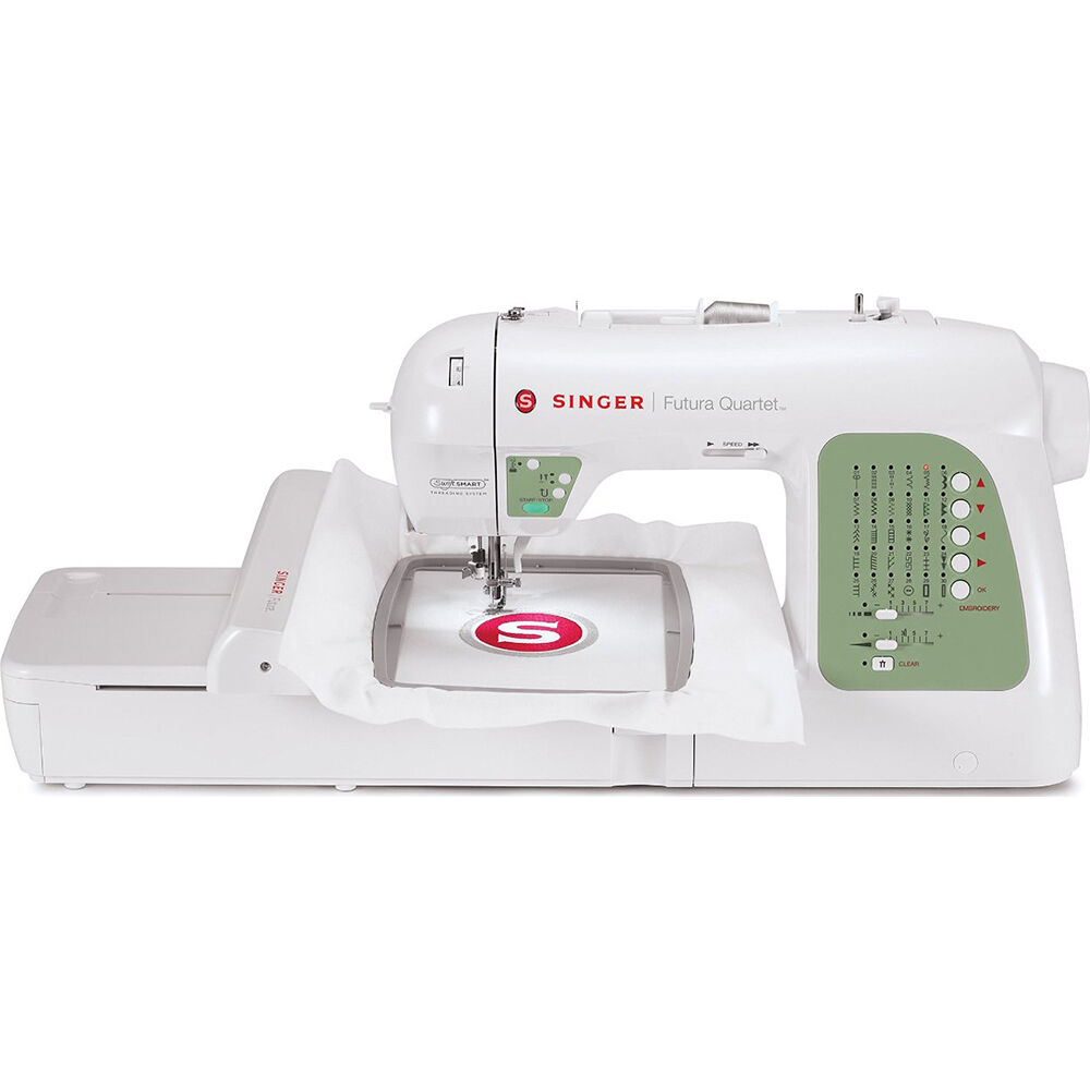 singer singer seqs 6000 futura sewing embroidery machine. Black Bedroom Furniture Sets. Home Design Ideas