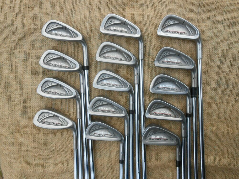 Tommy Armour 845s Silverscot 3 4 5 6 7 8 9 Irons ⛳ Steel