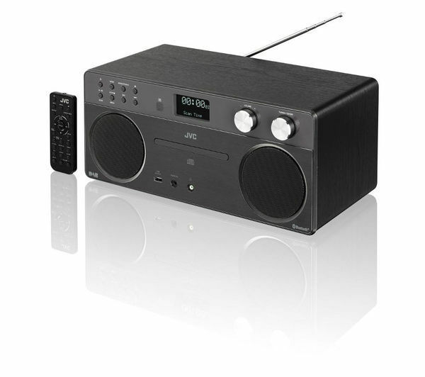 wireless hi fi system dab radio fm cd player bluetooth aux usb digital radio ebay. Black Bedroom Furniture Sets. Home Design Ideas