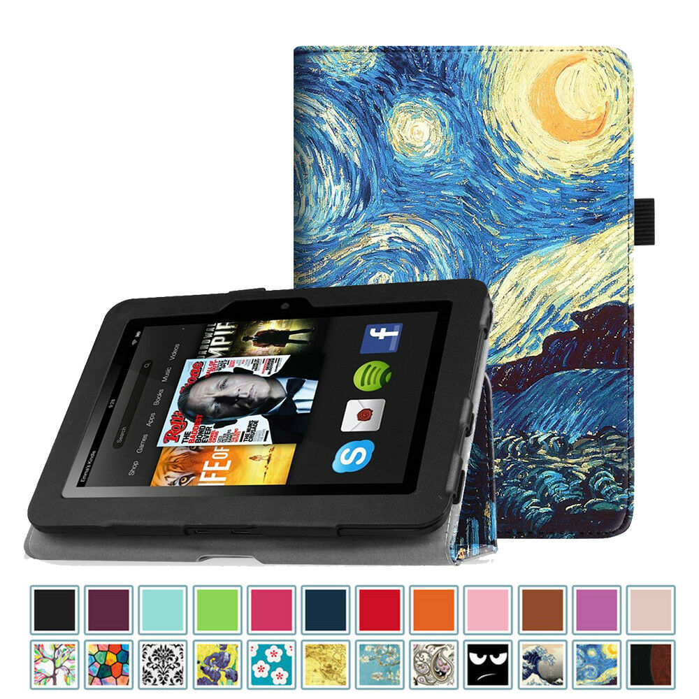 "For Kindle Fire HD 7"" 2nd (2012 Old Model) Smart Case"