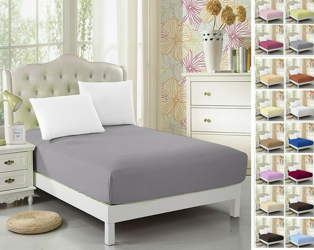 2 Pack Twin Xl Fitted Sheet For Split King Amp Dorm Bed 39 Quot 80 Quot Extra Long Twin Ebay