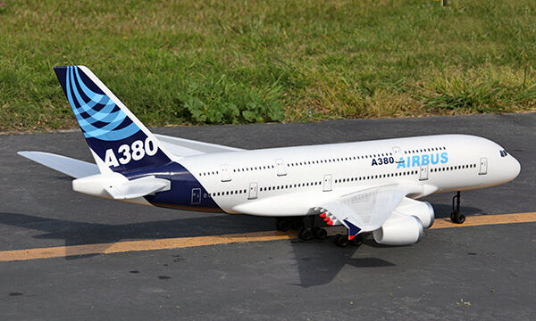 Airbus A380 4 X 50mm Edf Wingspan 1520mm Pnp Version Scale