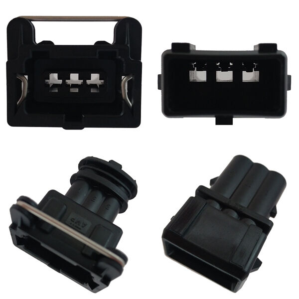 car connector bosch ev1 3 pole set plug car tuning. Black Bedroom Furniture Sets. Home Design Ideas