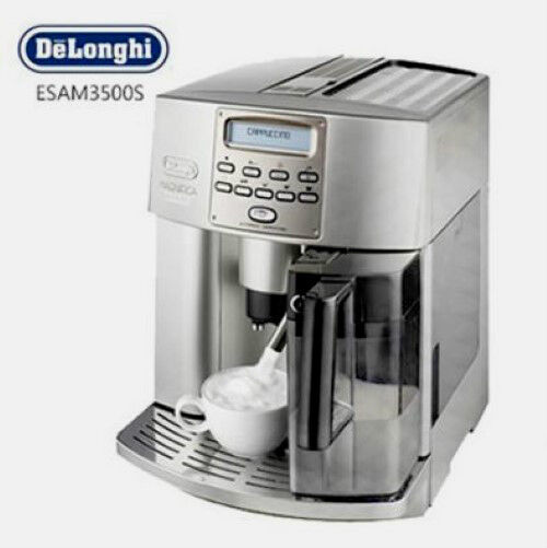 delonghi esam3500s magnifica digital super automatic espresso coffee machine ebay. Black Bedroom Furniture Sets. Home Design Ideas
