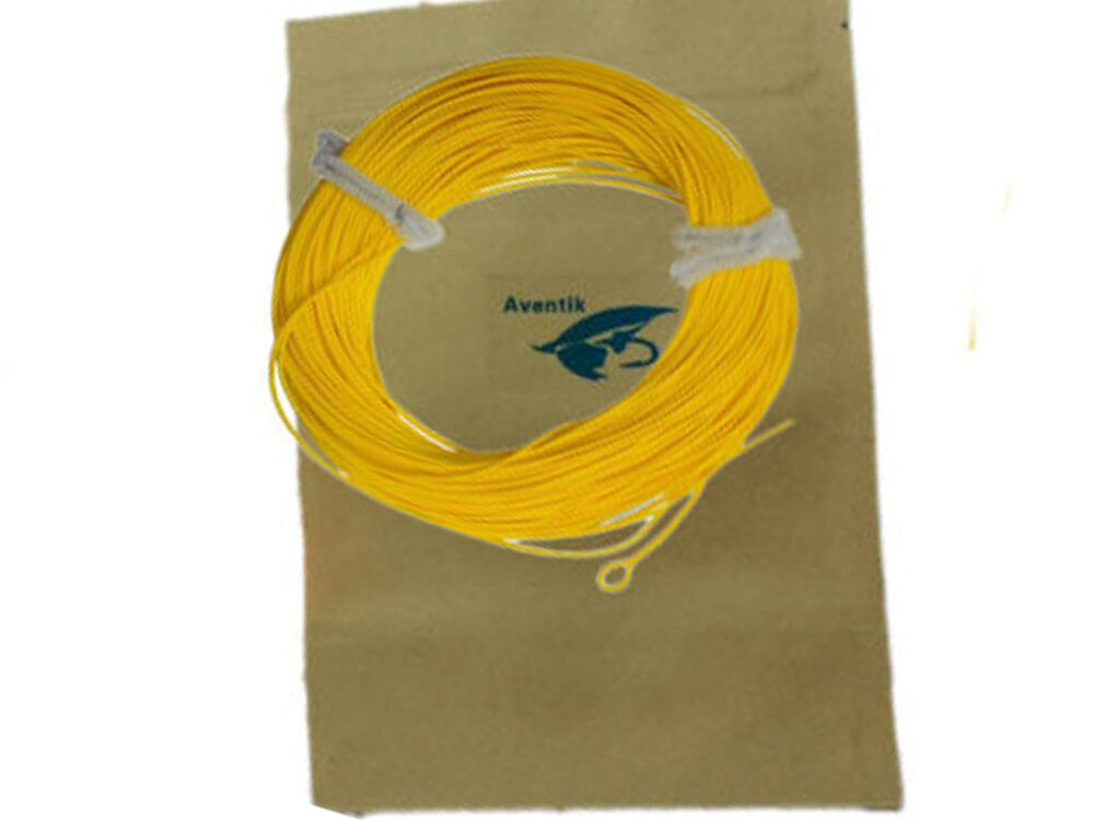 Aventik weight forward floating trout fly fishing line for Floating fishing line
