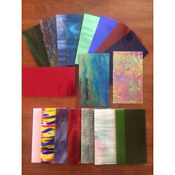 Kyпить Stained Glass Sheet Variety Pack of 10- 7