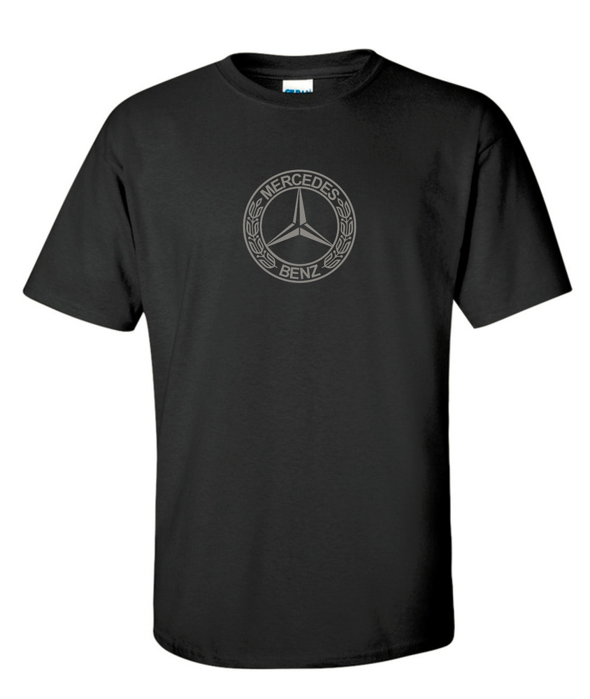 Mercedes benz t shirt quality cotton racing car for Mercedes benz shirts