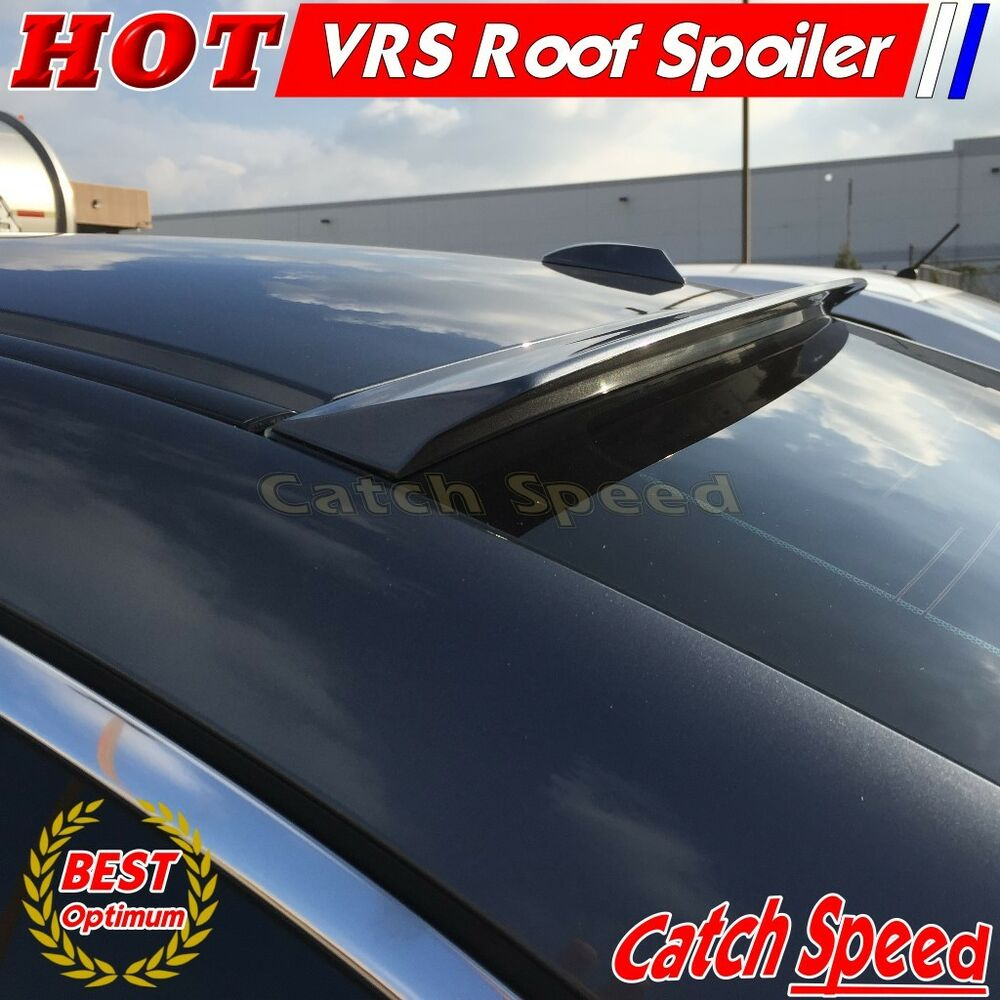 Flat Black VRS Type Rear Roof Spoiler Wing For Pontiac G6 Sedan 2005-2010