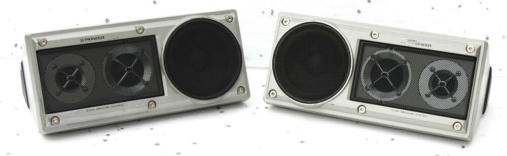 vintage pioneer component ts x11 solid aluminium speakers. Black Bedroom Furniture Sets. Home Design Ideas
