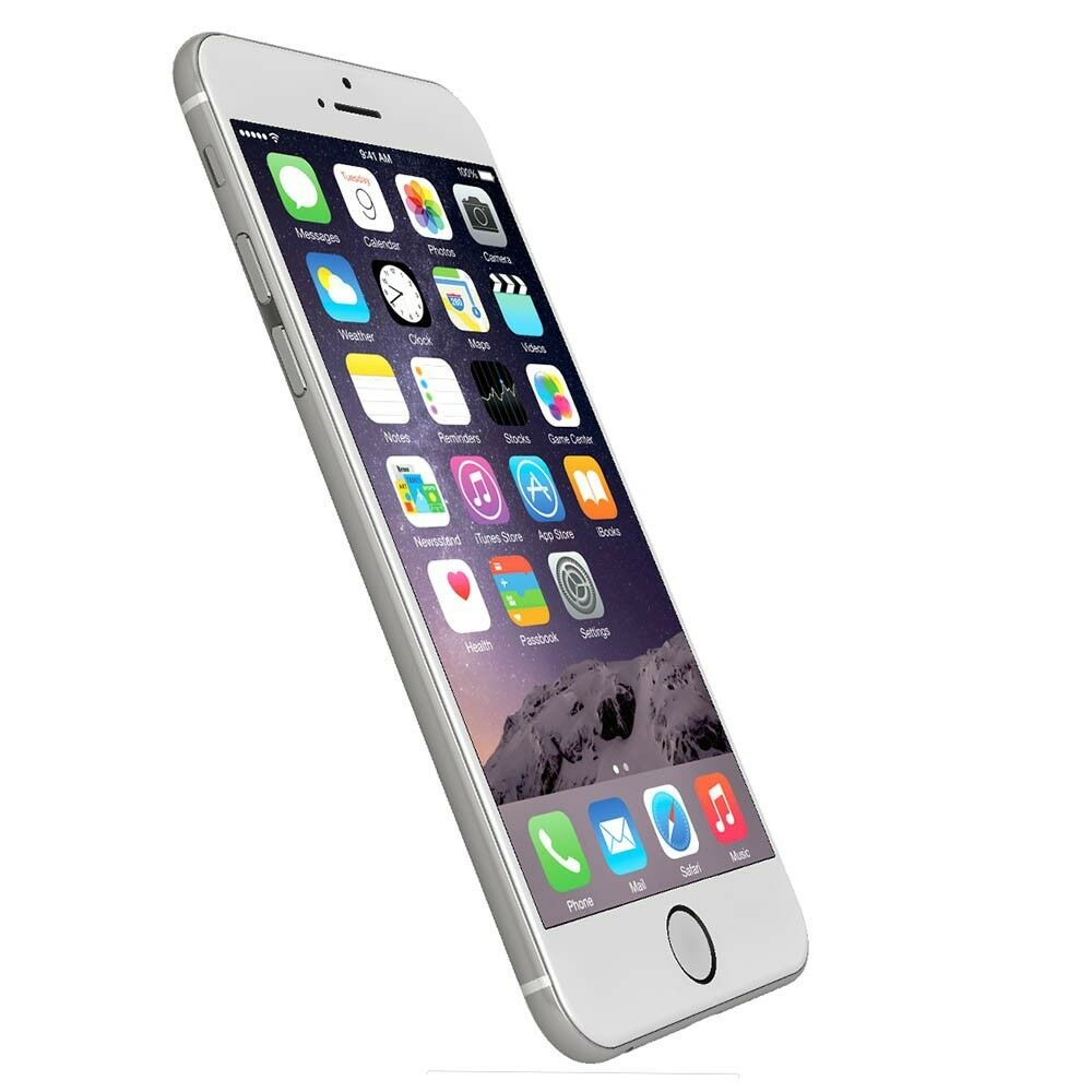apple iphone 6 64 gb silber wei wie neu top preis frei vom werk 888462064392 ebay. Black Bedroom Furniture Sets. Home Design Ideas
