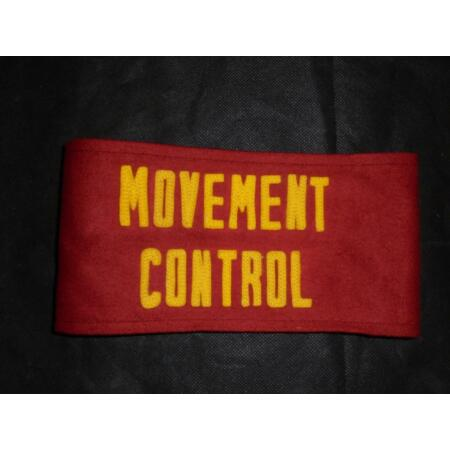 img-Genuine USMC United States Marines Corps Movement Control Brassard / Arm Band
