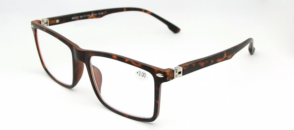Large Frame Wayfarer Vintage Reading Glasses Tortoiseshell ...