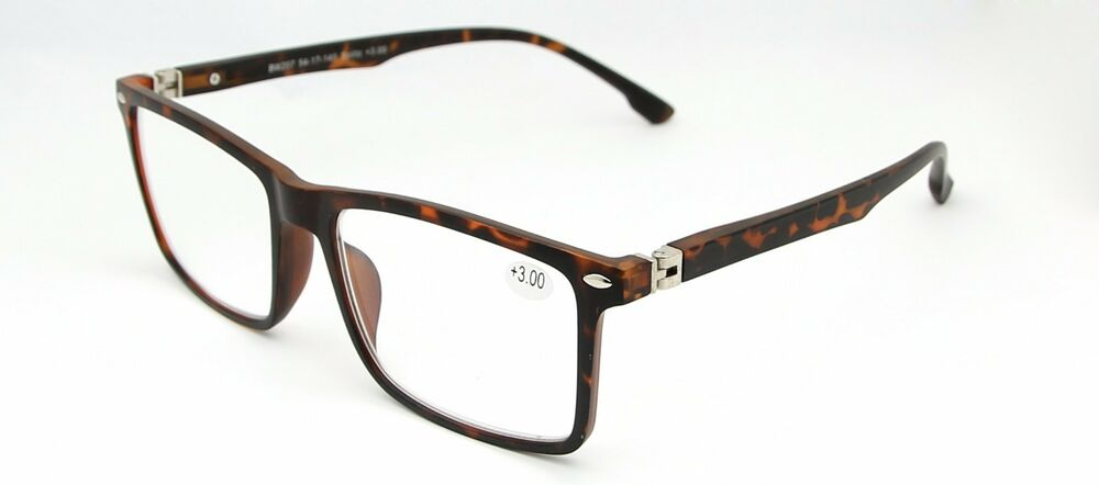 Large Frame Wayfarer Glasses : Large Frame Wayfarer Vintage Reading Glasses Tortoiseshell ...