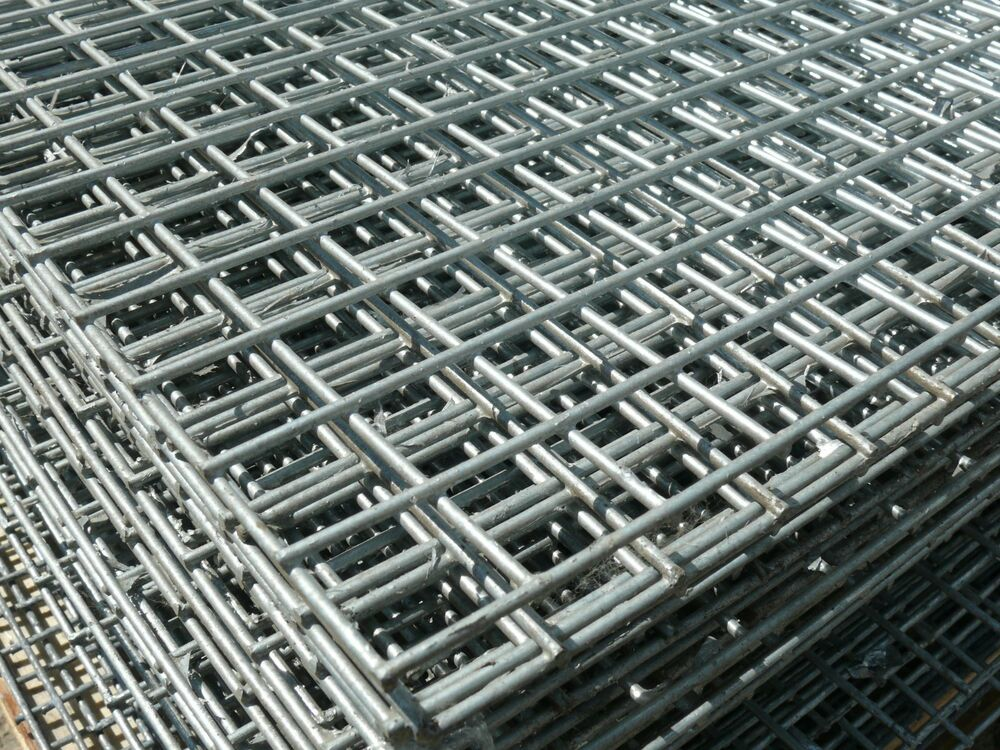 Welded Wire Mesh Panel 8 X 4 Ft Galvanised Steel Sheet 1