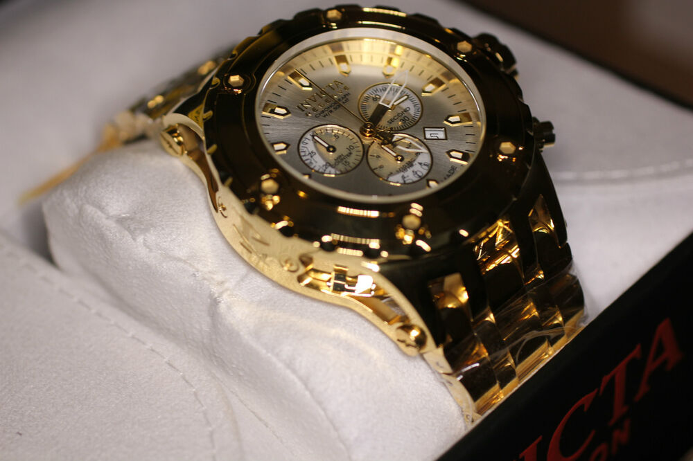Invicta mens 14508 subaqua reserve chronograph watch authorized dealer ebay for Bulltoro watches