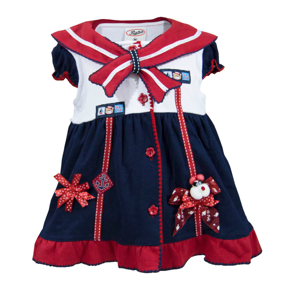 newborn infant baby girl dress with diaper cover outfit ...