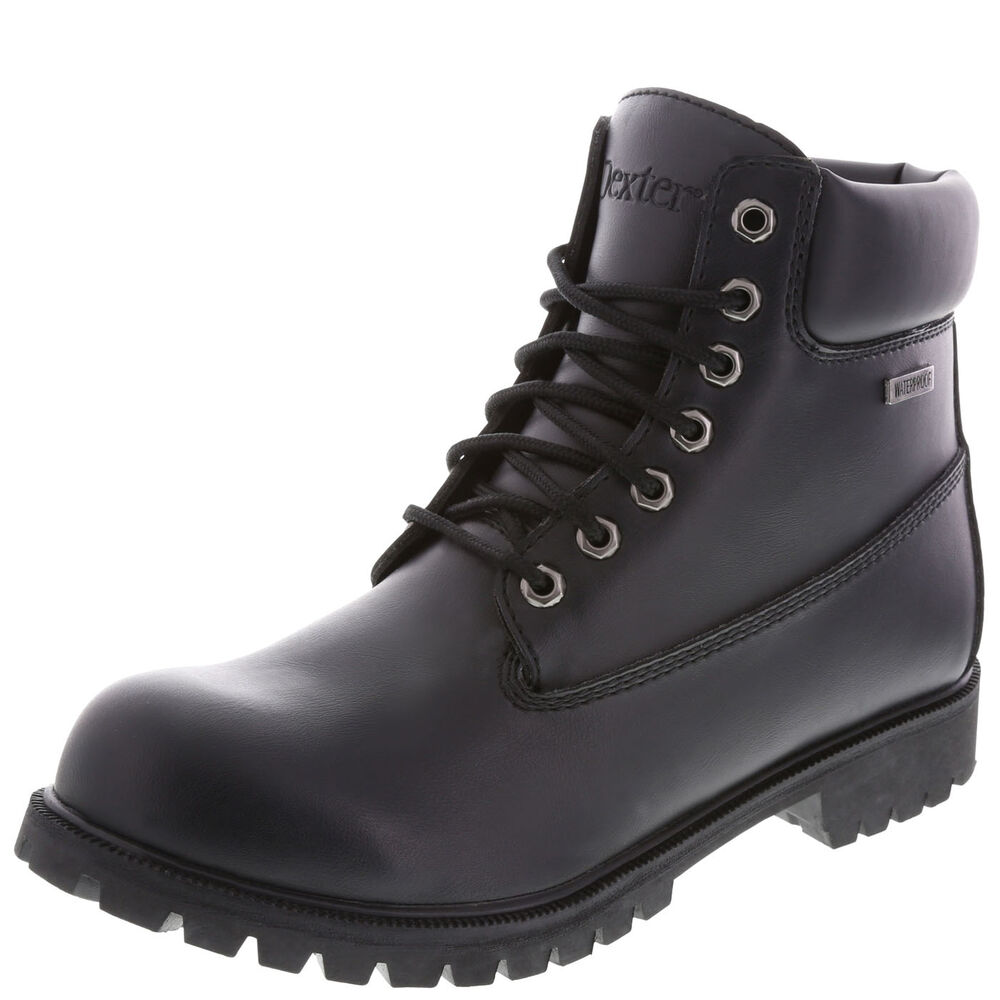 mens waterproof black work boots safe certified resist
