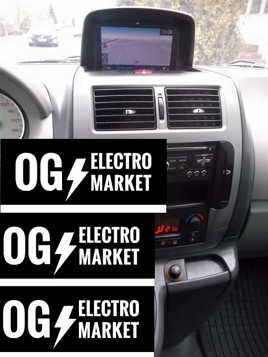 peugeot expert gps navigation system set radio sat nav rneg2 rt6 wip nav ebay. Black Bedroom Furniture Sets. Home Design Ideas